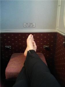 Queensland Rail single jump seat