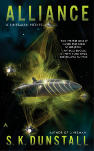 The cover of book two, Alliance