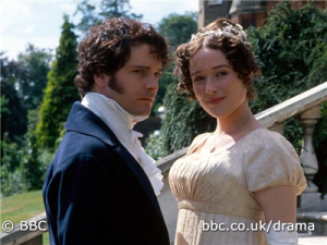 Darcy and Lizzie.
